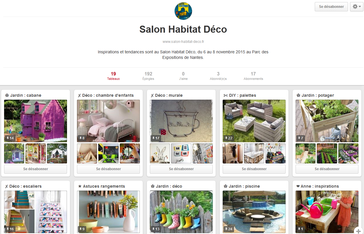 Salon habitat deco nantes 2015 for Salon habitat